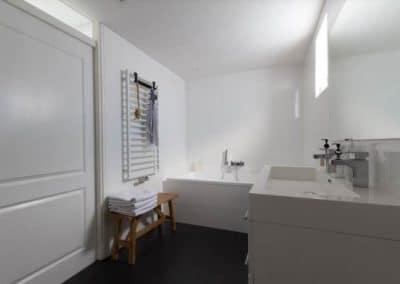badkamer uit hoek